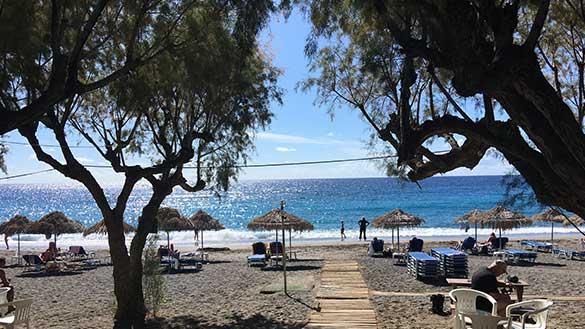 Strand von Gallini auf Kreta