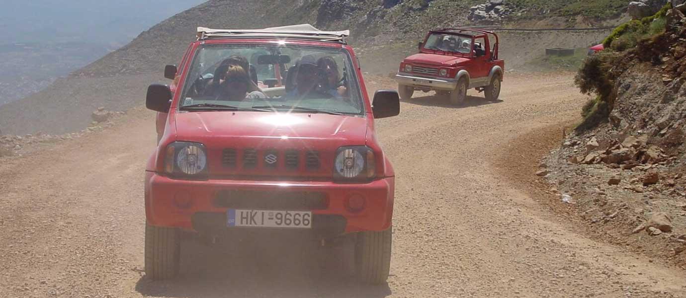 Jeep Safari auf Kreta