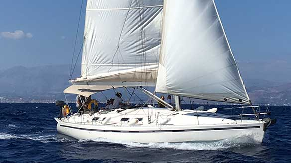 Segeltour Kreta